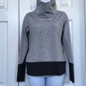 LUCY Mock Neck Pullover Shirt